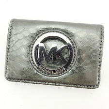Auth Sale Mike Lucous Card Case MK mark used J12585