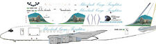 Silverback Freighters Douglas DC-8-62F decals for Minicraft 1/144 kits