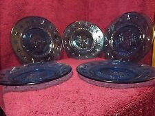 Presidential blue collectors plates (5)