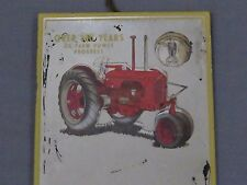 Vintage JI Case SC Tractor advertisng Wall Mirror MONROE Nebraska 1940's sign