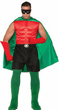 Green Superhero Cape Unisex Cosplay Adult Size Be Your Own Hero