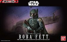 Boba Fett Star Wars Model Scale 1/12 Model Kit Bandai Japan
