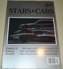 F1 DTM ITC IndyCar - Mercedes Benz Official Magazine Stars & Cars Rare 1ST Issue