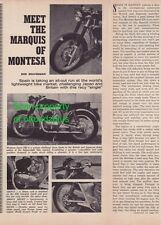 1967 Montesa Sport 250 - Meet the Marquis of Montesa - great article