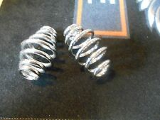 "Solo Seat Springs 5"" CChrome Plated For Motorcycle CCustom and Bobbers"