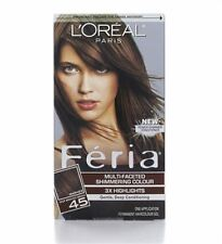 LOreal Feria Permanent Haircolor Gel - 45 Deep Bronzed Brown 1 Each (5 pack)