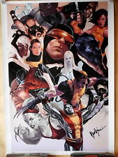 X-MEN lithographe Marko Djurdjevic panini 2008 Limited, signed # 58/99