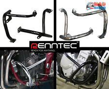Renntec Black Engine Crash protection Bars for the kawasaki ER6N, ER650 2006-08