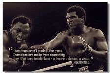 "Muhammad Ali Motivational and Inspirational HI-RES Banner Silk Poster 36x24"" 062"
