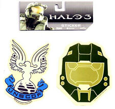 Halo 3 War Game UNSCDF & Helmet  Sticker Set of 2