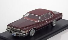 BoS 1978 Cadillac Fleetwood Brougham Dark Red Limited Edition 1:43 New*Rare!