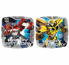 Transformers  Birthday Party Supplies Decorations Birthday Foil Balloon Genuine