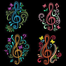 MUSIC TIME - 30 MACHINE EMBROIDERY DESIGNS (AZEB)