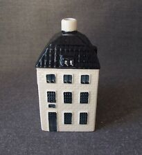VINTAGE BLUE DELFT'S FOR KLM BY BOLS AMSTERDAM 1575 POTTERY MINIATURE HOUSE # 55