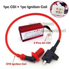 Racing Ignition Coil 5 Pin AC CDI For Honda XR50 CRF50 Pit Dirt Motor Trail Bike