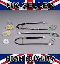 SEAT LEON WINDOW REGULATOR REPAIR KIT SET FRONT LEFT 2005 - 2010