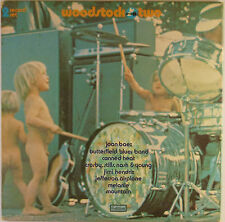 """2x12"""" LP - Various - Woodstock Two - k5092 - washed & cleaned"""