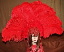Hand Crafted Feather Headdress (XLH115)