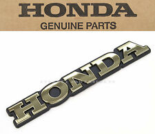 New Genuine Honda Rear Saddlebag Emblem 1989-1998 GL1500 Goldwing OEM #B51