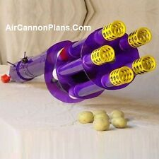 "Rotary Potato Gun Air Cannon Plans ""Build It Yourself"" Design"