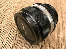 57mm 1.4 Konica Hexanon Beauti lens ready taking sharp+attractive bokeh pictures