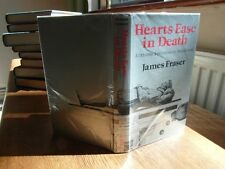 james fraser  hearts ease in death  1st edition in d/w