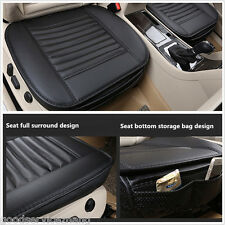 Universal Bamboo Charcoal Cushions PU Leather Seat Pad Seat Full Surround Cover