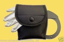 Gürteltasche Etui Polizei Handschellentasche für Handschellen / Handschuhe 2359