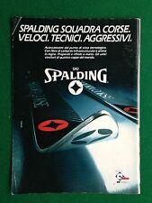PY91 Pubblicità Advertising Clipping 24x18 cm (1983) SKI SPALDING SCI