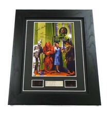 WIZARD OF OZ Signed PREPRINT + WIZARD OF OZ FILM CELL MOVIE MEMORABILIA GIFTS