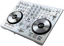 Precision Power PROMIX2WHITE Epsilon True Ultra Compact Midi DJ Controller, 6.25