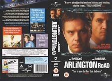 Arlington Road, Tim Robbins Video Promo Sample Sleeve/Cover #10324
