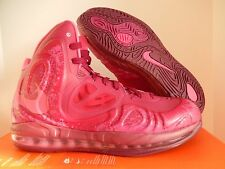 NIKE AIR MAX HYPERPOSITE RASPBERRY RED-PINK FOIL SZ 10 [524862-601]