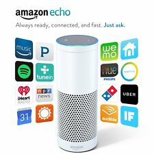 Brand New Amazon Echo - Alexa Personal Assistant Audio Streamer Smart Home White