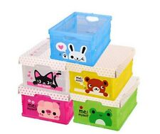 Cartoon Pattern Mini Folding Toy Storage Small Box