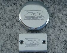 Suzuki GSXR 600 750 1000 CHROME FLUID CAP SET