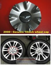 Fit 2008 ~ 2013 Hyundai Genesis 18 inch wheel center cap 4pcs 1set Genuine part