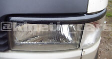 VW transporter T4 carbon effect headlamp eyebrows spoilers ABS