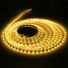 3528 5m 500cm Warm White 300 LED SMD Flexible Light Strip Lamp DC 12V
