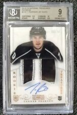 TANNER PEARSON 2013-14 NATIONAL TREASURES PATCH AUTO 2 10s LOS ANGELES KINGS RC