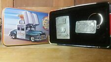 1998 Collectors Car ZIPPO Lighter with Key Chain in TIN Unused and hard to find