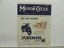 May 1947 The Motorcycle Magazine Matchless Clubman AJS Ariel TT Renold BSA L8587