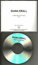 DIANA KRALL Wide River to Cross w/ RARE EDIT Tst Press PROMO DJ CD single 2012