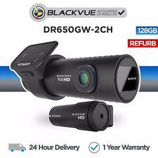 Blackvue DR650GW 128GB DVR Front & Rear Car Dash Camera Wifi GPS Full HD Refurb