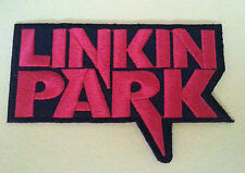 PUNK ROCK HEAVY METAL MUSIC SEW ON / IRON ON PATCH:- LINKIN' PARK (a) RED