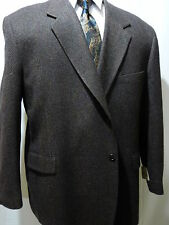 Men's Two Button Sport Coat, Brown, 52R, NWT