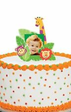 Wilton Jungle Pals Photo Cake Topper, Birthday, Graduation, Celebration