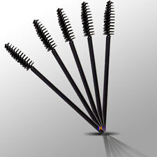 25x DISPOSABLE EYELASH WANDS MASCARA BRUSHES LASH EXTENSION APPLICATOR SPOOLERS