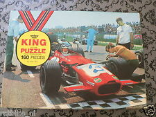 PUZZLE FORMULA ONE F1 EPSTEIN-CUTHBERT RACING NO 3 FIRESTONE KING JIG SAW 160 PI