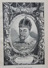 Sigismund III. Wasa von Polen - Zygmunt III Waza - Zigmantas Vaza - n Suyderhoef